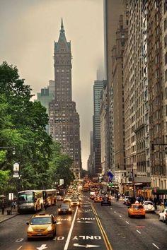 Park Avenue South, NYC