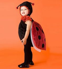 Cute ladybug costume for kids