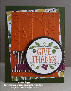 Woodland EF -- Oct Blog Hop - Thanksgiving