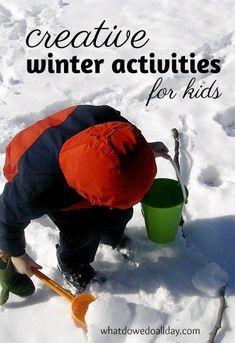 Creative ways to spend the cold days: indoor winter activities kids love.