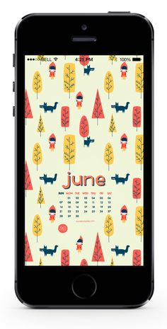 freebies: download june 2015 calendar