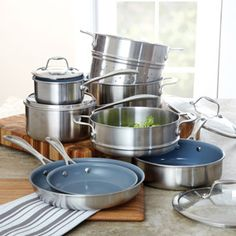 Zwilling JA Henckels Spirit Thermolon Cookware Set, 12 piece at CHEFS.
