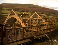 Merchant & Makers exclusive interview with Alan Ritchie, founder of Hewnwood, traditional oak timber framing.