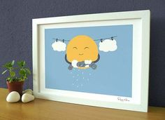 Flying Mouse 365 Selected Print - Laundry Day