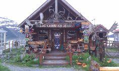 Whittier, Alaska. This is Brenda Tolman's shop.