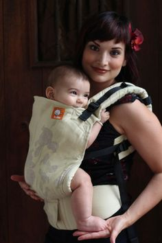 (Standard Size) Full Wrap Conversion Tula Baby Carrier - Natibaby Irises linen 9