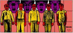 Man Gilbert & George, World, Painting, Art, Art Background, Painting Art, Kunst, Paintings, The World