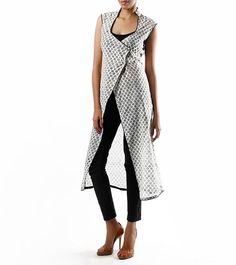 Latest Angrkha Style Shirt Dress Designs & Casual Kurtas for Women (1)