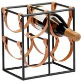 Found it at Wayfair - Small Brighton 4 Bottle Tabletop Wine Rack