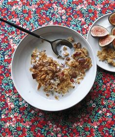 Healthy Breakfast : This make-ahead, whole grain breakfast does just as well on a weekday morning as... #Breakfast