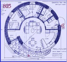 Spiral House Plans For Strawbale Building