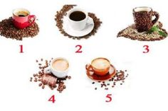 Just choose from five cups of coffee! Coffee Cups, Panna Cotta, Food And Drink, Tasty, Place Card Holders, Ethnic Recipes, Nap, Cup Of Coffee, Shoes
