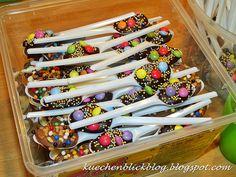 Chocolate Spoons