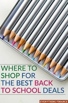 Want to take advantage of the best back to school deals so you can save money on…