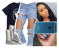 """"""""""" by l-ondonbridge ❤ liked on Polyvore featuring Mr. Bathing Ape and UGG Australia"""