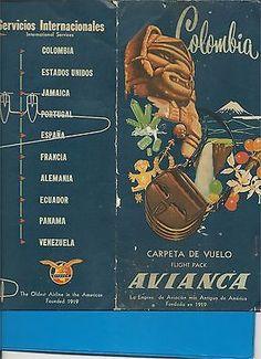 Afbeeldingsresultaat voor avianca vintage poster