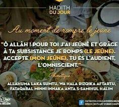 Au moment du Ftour pendant le Ramadan