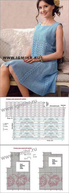 Филейное вязание крючком. | VK