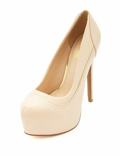 Pieced Almond Toe Pump: Charlotte Russe