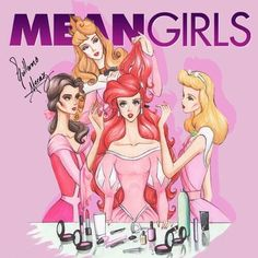 Mean Princesses make over...