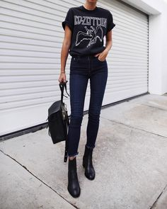 "14.8k Likes, 117 Comments - Andy Csinger (@andicsinger) on Instagram: ""Skinnies // @nobodydenim available via @revolve ✔ / #nobodydenim #skinnies #ad"""