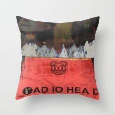 Radiohead 20 Throw Pillow