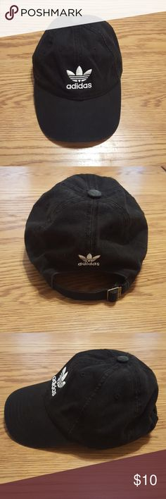 Black Adidas Hat Woman's black Adidas hat - used, like new adidas Accessories Hats