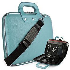 Cady Messenger Cube SKY BLUE Ultra Durable Tactical Leath...