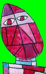 Portrait abtrait - Paul Klee