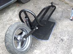 Single Wheel Motorcycle Trailer