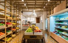 EL MERCADILLO is a butcher shop where you can live a different shopping experience. based on product and design. Organic Market, Fresh Market, Vegetable Shop, Fruit Shop, Fruit Fruit, Supermarket Design, Meat Shop, Farm Store, Retail Merchandising