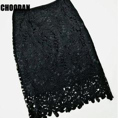adc7943b98 Lace Skirt Elegant Women Summer High Waist Pencil Skirts 2017 Fashion  Korean Style Sexy Hollow Out Office Ladies Female Clothing