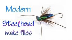 Steelhead wake fly on tube Atlantic Salmon, Trout, Fly Fishing, Food, Brown Trout, Meal, Hoods, Salmon, Camping Tips