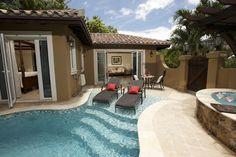 Private pool at Sandals Grande Antigua Resort #privacy #romance #love #sandalsresorts