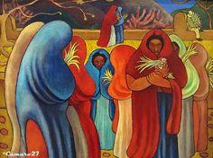 Carlos Cañas, s/t (Domingo de Ramos) (1948). MARTE Museo de Arte de El Salvador by CAMARO27, via Flickr