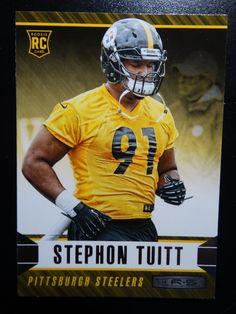 2014 Panini Rookies and Stars #184 Stephon Tuitt Pittsburgh Steelers Rookie Card #PittsburghSteelers