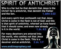 If it can't acknowledge that Jesus came in bodily form/in the flesh, and came from God, that person is not of God! It's an antichrist spirit because its anti meaning opposite such as also against, and opposes something or someone like for this example,Jesus . An antichrist person will do this by actions also. They have no light in them from God. It doesn't mean they are without hope, keep them in prayer! The effectual prayers of the righteous avail much.