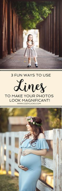 Photography tips to help your gain creative composition using lines! Learn how to use lines in photography to create cool images!
