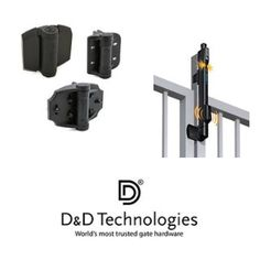 #DandD #Gate #hardware is a crucial part of any gate when it comes to its functionality. And what does gate hardware consist of? Well, it's the gate #hinges, #handles, #locks and #latches, and #gate #closers. Before you proceed to buy any type of gate hardware and install them on your brand-new swing gate, take a close look at your gate to make sure you get the right parts. Click the image to know more.