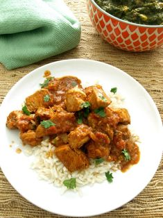 The tangy, spicy blend of vinegar and Indian curry spices in Chicken Vindaloo is sure to satisfy and it's made without a pre-made paste or sauce mix.