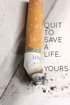Quit Smoking Tips. Kick Your Smoking Habit With These Helpful Tips. There are a lot of positive things that come out of the decision to quit smoking. You can consider these benefits to serve as their own personal motivation Quit Smoking Quotes, Quit Smoking Motivation, Help Quit Smoking, Giving Up Smoking, Anti Smoking, Smoking Kills, Acupuncture, Smoking Addiction, Stop Smoke