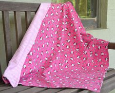 Blanket  Double Sided Cotton Flannel Blanket  by HOUSEOFBLAIRLLC