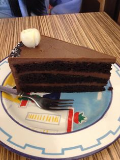 Chocolate cake at Backofen