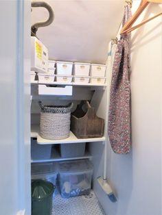 Under Stair Cupboard Storage – Edna & Ossie Grey Kitchen Cupboards, Living Room Cupboards, Hallway Cupboards, Diy Cupboards, Painted Cupboards, Under Stairs Cupboard Storage, Closet Under Stairs, Space Under Stairs, Under Stairs Pantry Ideas