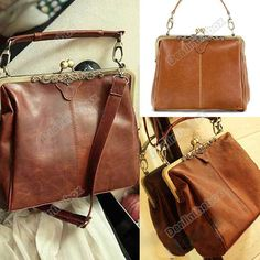 ♥♥Vintage Damentaschen Handtasche PU Leder Umhängetasche Tragettasche Taschen♥♥