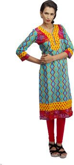 Prakhya Printed Women's Straight Kurta for Rs.999.00 - Rs.550.00 (Instant Discount) = Rs.449.00 plus Shipping charges