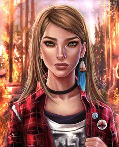 ArtStation - Rachel Amber - Life is strange, Eva Kosmos