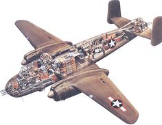 History Flight - Our Aircraft :: B-25H Mitchell