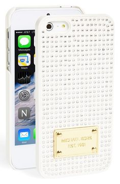 Michael Kors crystal iPhone case http://rstyle.me/n/n52wvnyg6