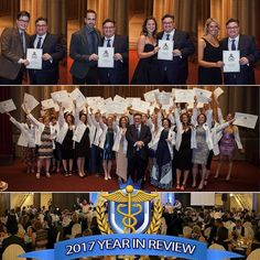 CAO Year in Review 2017: The Grand Event Every November we gather at the The The Scottish Rite Club of Hamilton for Founders Day Weekend where we celebrate the achievements of our students and our amazing osteopathic community. During the Grand Event our graduates receive their diplomas & their graduation coats and the medal winners for each graduating class are presented. The ceremony is followed by dinner toasts & dancing.  Visit our Facebook Page to see the Grand Event Video and the Photo…